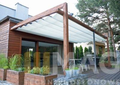 dach na konstrukcji drewnianej