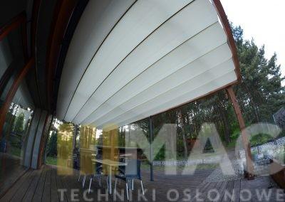 dach top light na konstrukcji drewnianej