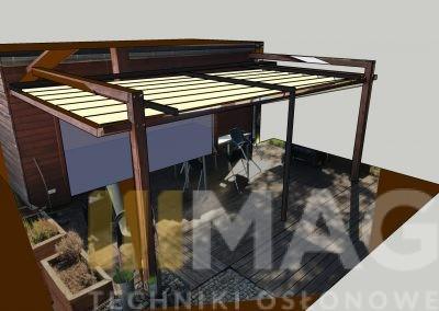 drewniana konstrukcja z ruchomym dachem (3)